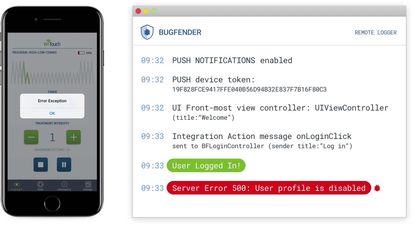 Bugfender for iOS | Bugfender