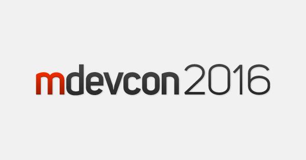 mdevcon 2016 sponsorship