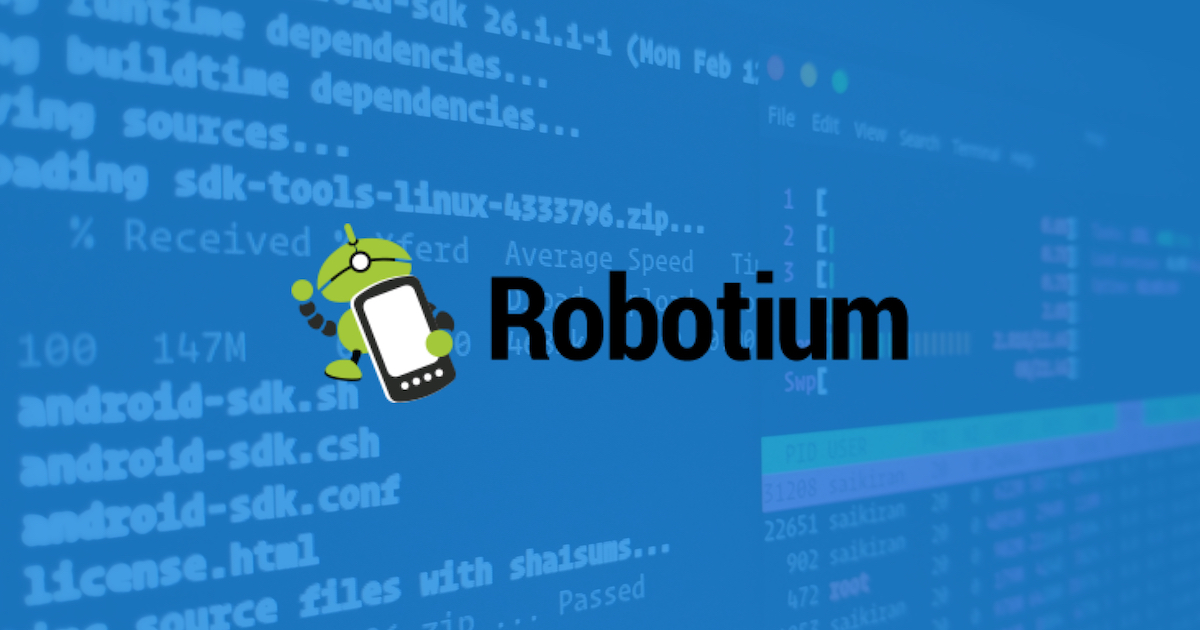 Top 5 Automated Testing Tools for Android: October 2018
